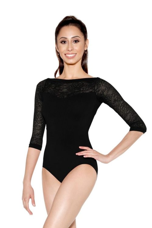 black ballet outfit